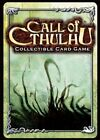 Call of Cthulhu - Masks of Nyarlathotep 121 - 145 -Pick card Call of Cthulhu CCG
