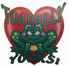 Toadally Yours Shirt, Valentines Day, Frog - Toad - Love, Heart, Small - 5X