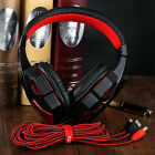 Hot USB 3.5mm Surround Stereo Gaming Headset Headband Headphone+Mic for PC LOT