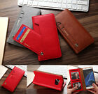 Leather Detachable 2in1 Card Wallet Flip Phone Case Cover for iPhone Samsung S7