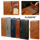 FLOVEME Retro PU Leather Wallet Magnetic Flip Case Cover For iPhone 7 7 Plus