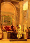 British Greek History art print:  Byzantine Throne Room