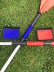 Canoe/Kayak Paddle Grips with velcro fastening (Red or Blue)