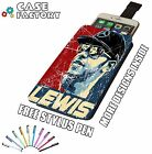 Lewis Hamilton F1 Fan Pop Art Racing - Universal Leather Phone Pouch Case Cover