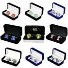 Official Football Team Crest Cufflinks - Mens Executive Soccer - NEW GIFTS