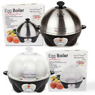 STAINLESS STEEL ELECTRIC 7 EGG COOK BOIL STEAM POACH RAPID COOKER KITCHEN