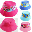 Kids boys girls BUCKET hat hunting camping fishing reversiblepony minnie pokemon