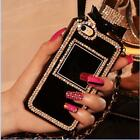 Diamond Crystal Bling Crystal Back Cover Case Perfume Bottle For iPhone&Samsung
