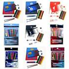 Official Football Team Fade Ultimate 19 Piece Stationery Gift Set - School Kids