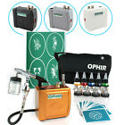 OPHIR 4 Colors Complete Airbrush Set for Temporary Airbrush Tattoos Fake Tattoos