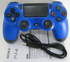Dualshock 4 Wave Blue Wireless Controller For Sony playstation 4 PS4, PS TV
