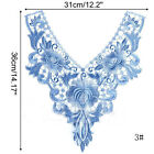 Trim Scrapbooking Patches Embroidered Lace Lace Embroidered Neckline Applique
