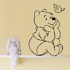 WINNIE THE POOH NURSERY WALL ART STICKER BABY GIRL BOY BEDROOM GIFT VINYL DECAL