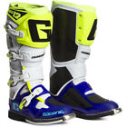 NEW Gaerne 2018 Mx SG-12 Blue White Fluo Yellow Premium Adult Motocross Boots