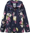 Joules Coast Print Waterproof Hooded Jacket