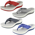 Ladies Clarks Arla Glison Casual CloudSteppers Sandals - D Fitting