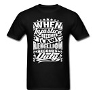 When Injustice becomes law rebellion becomes duty unfair rebel Tee t-shirt