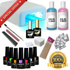 CRYSTAL-G NEON Gel Nail Polish Kit Starter Set UV LED Professional Manicure UK