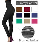 High Waist Tummy Control Fleece Warm Winter Thermal Legging Skinny Stretch Pants