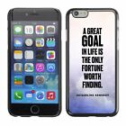 Hard Phone Case Cover Skin For Apple iPhone 54 goal Kennedy white purple paint