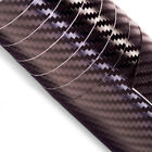 3D Carbon Fibre Vinyl Wrap Sticker Roll Black All Sizes ONYX Hard Wearing Vinyl