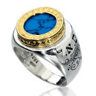 Kabbalah Jewelry Gold ,Silver Ring Blessings Protection and Financial Prosperity