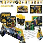 The Lego Batman Movie | Batman & Robin 18cm Dessert Party Paper Plates 1-48pk