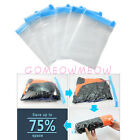 Large Vacuum Storage Bags Clothes Bedding Save Space Travel Sealed No need Pump