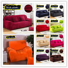 NEW Thicken Furniture Sofa Cover Protector 1 2 3 4 Couch Stretch Slipcover
