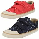 CLARKS Comic Cool Infant Canvas Doodle for Girls