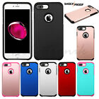 Hard Case Cover Hybrid Rubber ShockProof Protective For Apple iPhone 7 Plus 7