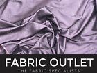 Aubergine Stone Taffeta Bridal Wedding/Party Dress Decor Drapery Cushion Fabric