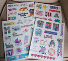 Sets of Scrapbooking Stickers-You Pick Theme-General, Holiday, Wedding, or Baby