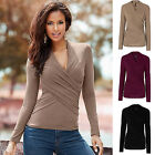 Women's Lady Loose Long Sleeve Casual Blouse Shirt Tops New Fashion Blouse USA