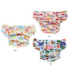 Washable Printed Adult Diaper Pant Reusable Cloth Diaper Incontinence Nappy Pant