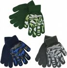 Boys Girls Kids Children's Camouflage Warm Winter Grippy Magic Gloves