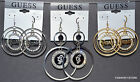 GUESS Women  Designer Dangle Earrings With French Hook Many Styles NWOT