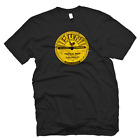 SUN RECORDS ELVIS PRESLEY OFFICIALLY LICENSED THAT'S ALL RIGHT TEE SHIRT - BLACK