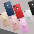 Luxury Creative Bear Ring Buckle PC Case Cover For iPhone 6 6Plus 7 7Plus