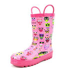 Arctiv8 HARLEY Kids Rubber Outdoor Waterproof Pull On Rain Boots New