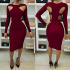 Women's Bandage Bodycon Sleeveless Evening Party Cocktail Short Mini Dress US