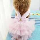Pet Dog Cat Tutu Dress Lace Skirt Puppy Dog Princess Costume Apparel Clothes New