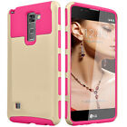 Armor Shockproof Rubber Phone Hard Case Cover For LG G Stylo 2 / Stylus 2 & Plus
