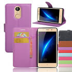 Elegant Leather Wallet Case Protective Flip Stand Cover For Leagoo M5&Shark 1