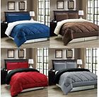 Down Alternative Reversible Comforter Set Twin Full Queen or King Size