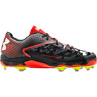 Under Armour Men's Deception Low Molded Metal Baseball Cleat