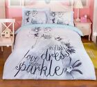 *** Cinderella Queen Bed Quilt Cover Set - Flat or Fitted Sheet ***