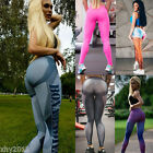 US STOCK Women Sports Running Fitness Leggings Pants Jumpsuit Athletic Clothes