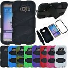 For Galaxy S7 S6 S5 S3 Shockproof Armour Heavy Duty Workman Military Case Cover