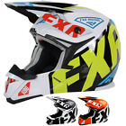 FXR Racing X-1 Youth Sled Snowboard Snowmobile Helmets